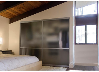 Modern built-in closet space