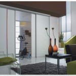 Sliding doors for room division