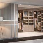 Custom Closet by Sliding Door by California Closets