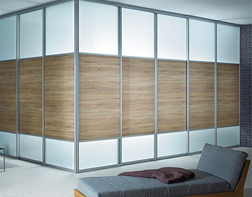 CREATE OFFICES QUICKLY WITH SLIDING DOORS